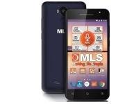 MLS F5 16GB Μαύρο/Μπλε Dual Sim Smartphone