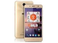MLS Color Fingerprint 16GB Χρυσό Dual Sim Smartphone