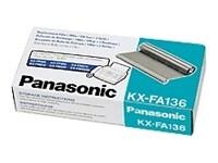Μελανοταινία μαύρη Panasonic KX-FA136 (2 τμχ)
