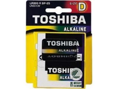 Μπαταρία Toshiba LR20 περιφερειακά   μπαταρίες   αλκαλικές