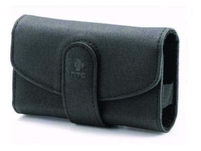 Θήκη HTC P4550 - HTC Leather Case  Μαύρο