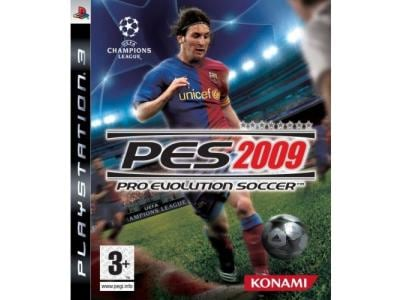 PS3 Used Game: Pro Evolution Soccer 09
