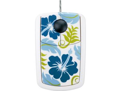 Hawaiana Boy Mouse - Ενσύρματο ποντίκι PSN - Λευκό