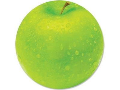 Fellowes BritePad Green Apple - Mouse pad