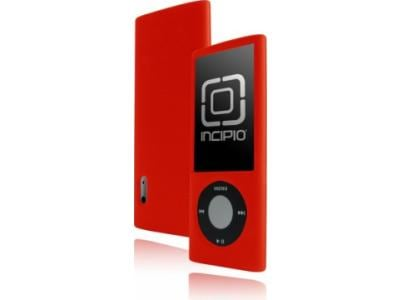 Incipio Dermashot - Θήκη για ψηφιακή συσκευή αναπαραγωγής iPod Nano 5G - Κόκκινο