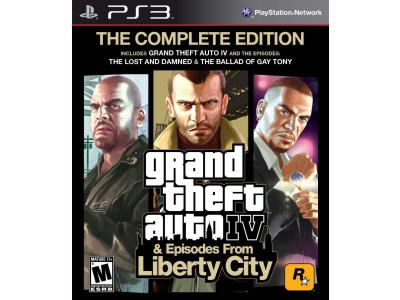 GTA IV Complete Edition - PS3 Game gaming   παιχνίδια ανά κονσόλα   ps3