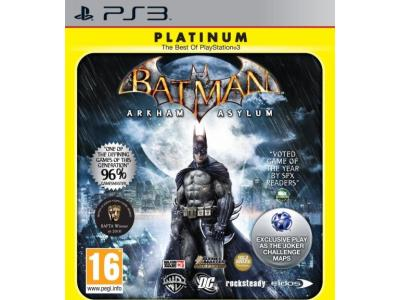 Batman Arkham Asylum Platinum - PS3 Game gaming   παιχνίδια ανά κονσόλα   ps3