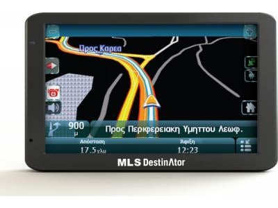 MLS Destinator 5900 - GPS αυτοκινήτου - Χάρτες Ελλάδας - Κύπρου
