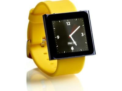 Nanowatch NWYELLOW5 - Θήκη mp3 player - iPod nano - Κίτρινο