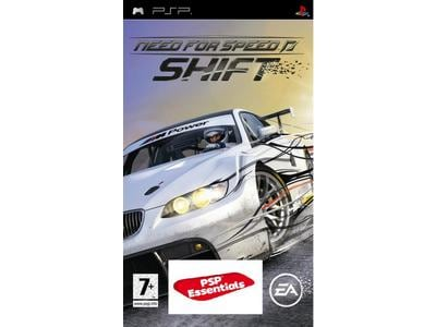 Need for Speed Shift Essential - PSP Game