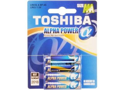 Μπαταρία Toshiba AAA LR03 BP4