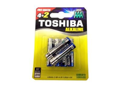 Μπαταρία Toshiba LR03 BP6