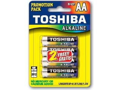 Μπαταρία Toshiba LR06 BP6