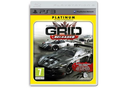 PS3 Used Game: Race Driver Grid Reloaded gaming   used games   ps3 used