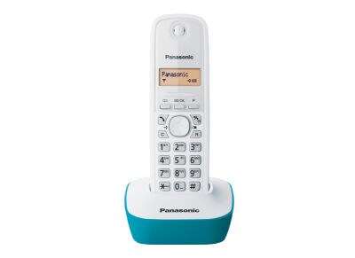 Panasonic KX-TG1611GRC Ασύρματο Τηλέφωνο Μπλε