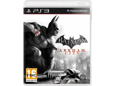 PS3 Used Game: Batman Arkham City gaming   used games   ps3 used