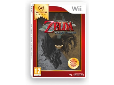 The Legend of Zelda: Twilight Princess Select - Wii Game