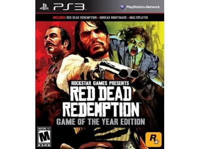 Red Dead Redemption: Game Of The Year Edition - PS3 Game