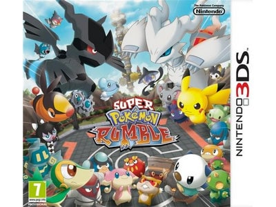 Used : Super Pokemon Rumble - 3DS gaming   used games   3ds 2ds used