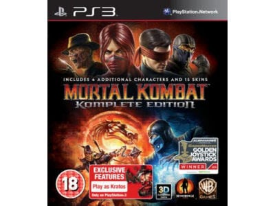 PS3 Used Game: Mortal Kombat: GOTY - Komplete Edition gaming   used games   ps3 used