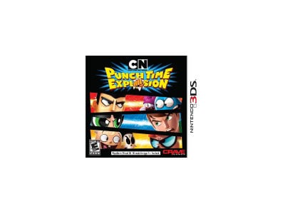 Cartoon Network: Punch Time Explosion - 3DS Game