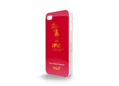 Θήκη iPhone 4/4s - WIT Premium Tough Shield Dame Vivienne Westwood Κόκκινο apple   αξεσουάρ iphone   θήκες
