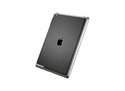 Skin iPad 3rd Gen - Spigen SGP SGP08863 - Μαύρο Ανθρακόνημα
