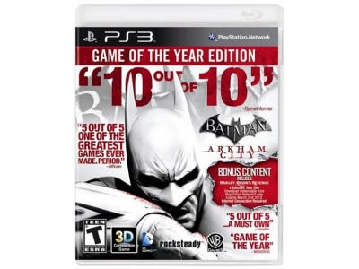 Batman Arkham City GOTY - PS3 Game