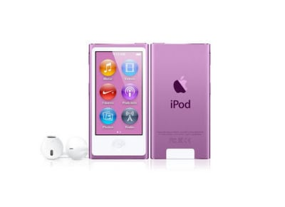 Apple iPod Nano 7th Gen 16 GB Μωβ