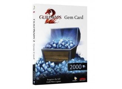 Guild Wars 2 GEM Card 2000 - PC
