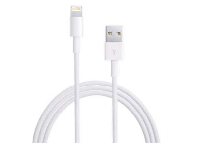 Καλώδιο Lightning to USB 1m - Apple MD818ZM/A Λευκό