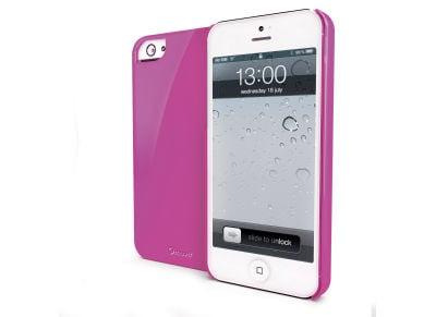 Θήκη iPhone 5/5s - Muvit MUBKC0604 Ροζ