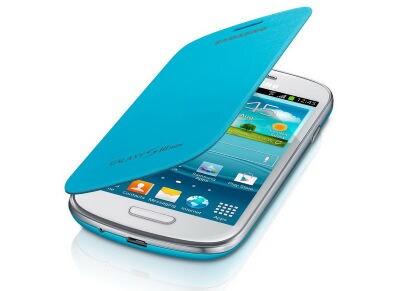 Θήκη Samsung Galaxy S3 Mini - Samsung Flip Cover EFC-1M7FLEGSTD Γαλάζιο τηλεφωνία   tablets   αξεσουάρ κινητών   θήκες