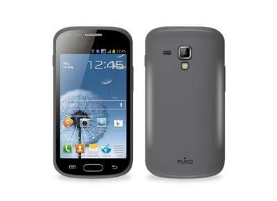 Θήκη Samsung Galaxy S Duos - Puro S7562SBLK Μαύρο