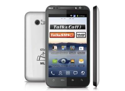 Smartphone MLS iQTalk Dual SIM Λευκό
