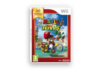 Mario Power Tennis - Wii Selects - Wii Game gaming   παιχνίδια ανά κονσόλα   wii