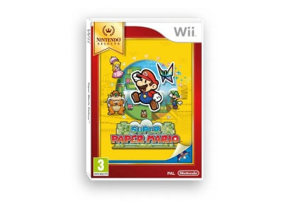 Super Paper Mario - Wii Selects gaming   παιχνίδια ανά κονσόλα   wii