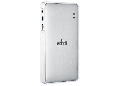 Echoii E9 Wireless Hard Drive & Power Bank - 32 GB - Μέσο αποθήκευσης & Φορτιστής large