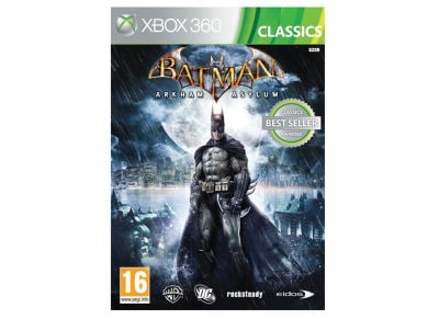 Batman Arkham Asylum Classics - Xbox 360 Game gaming   παιχνίδια ανά κονσόλα   xbox 360