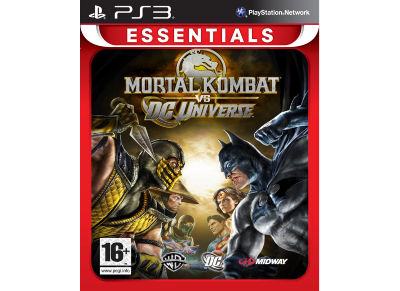 Mortal Kombat VS DC Universe Essentials - PS3 Game gaming   παιχνίδια ανά κονσόλα   ps3
