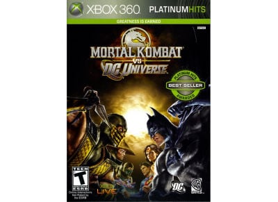 Mortal Kombat VS DC Universe Classics - Xbox 360 Game gaming   παιχνίδια ανά κονσόλα   xbox 360