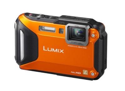 Panasonic Lumix DMC-FT5 Waterproof Πορτοκαλί