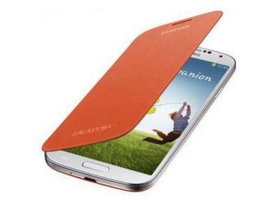 Θήκη Samsung Galaxy S4 - Samsung Flip Cover EF EF-FI950BOEGWW Πορτοκαλί τηλεφωνία   tablets   αξεσουάρ κινητών   θήκες