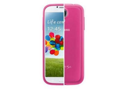 Θήκη Samsung Galaxy S4 - Samsung Protective Hard Cover EF EF-PI950BPEGWW Ροζ τηλεφωνία   αξεσουάρ κινητών   θήκες