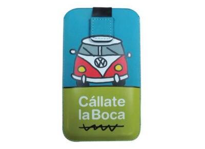 """Θήκη Universal 3.5"""" Callate la Boca Furgo CBFM016 Γαλάζιο"""