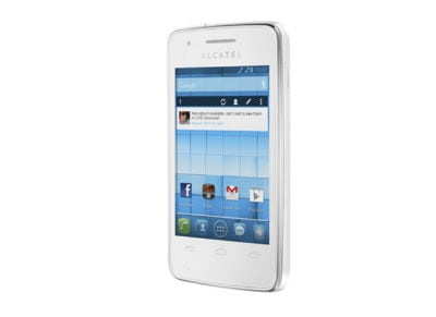 Smartphone Alcatel One Touch S'Pop Dual Sim 4GB Λευκό