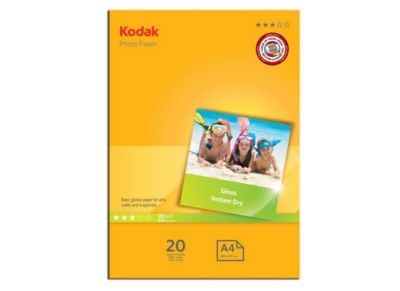 Χαρτί Φωτογραφικό Kodak 5740-512 A4 - 20 φύλλα