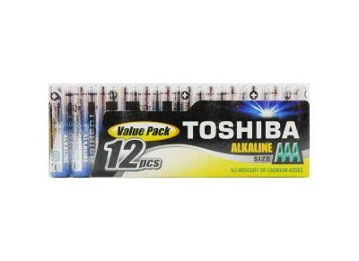 Μπαταρία Toshiba  Alkaline AAA LR03 FIMP12