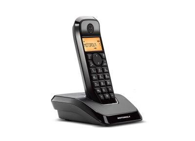 Motorola S1201 Ασύρματο Τηλέφωνο Μαύρο
