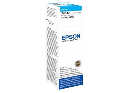 Μελάνι Κυανό Epson T6642